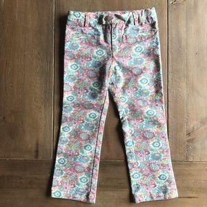 Zara floral pants 4/5